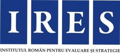 Locuri de munca la Institutul Român pentru Evaluare şi Strategie - IRES