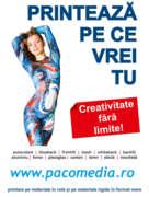 Locuri de munca la Paco Media - Magazin de Publicitate SRL