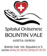 Stellenangebote, Stellen bei Spital Oras Bolintin-Vale, manager spital dr Horhota Lucian ATI