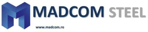 Locuri de munca la SC MADCOM STEEL SRL
