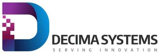 Locuri de munca la Decima Systems