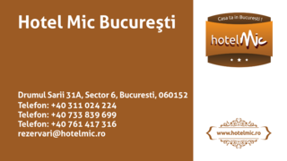 Job offers, jobs at Hotel Mic Bucuresti