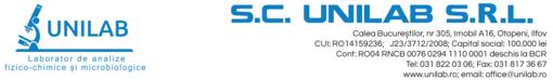 Job offers, jobs at SC UNILAB SRL
