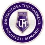 Stellenangebote, Stellen bei Universitatea Titu Maiorescu