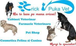 Locuri de munca la CRICK & PUKA VET SRL
