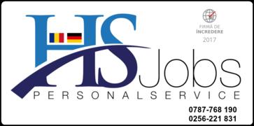 Stellenangebote, Stellen bei HS JOBS PERSONAL SERVICE SRL