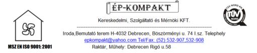 Állásajánlatok, állások EP-KOMPAKT KFT