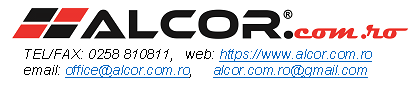Locuri de munca la ALCOR.COM.RO SRL