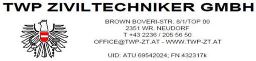 Job offers, jobs at TWP Ziviltechniker GmbH