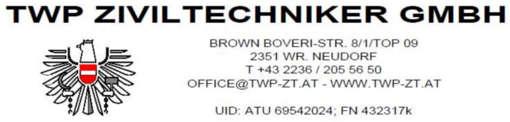 Állásajánlatok, állások TWP Ziviltechniker GmbH