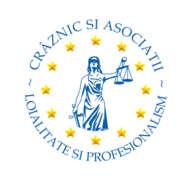 Stellenangebote, Stellen bei CRAZNIC SI ASOCIATII SCPA